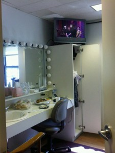 Letterman Dressing Room