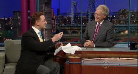 Video: My appearance on The Late Show with David Letterman