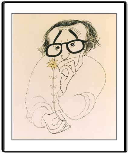 Woody Allen Hirschfeld