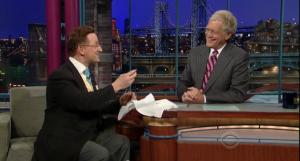 Letterman smile