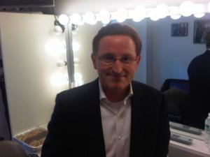 Steve in dressing room