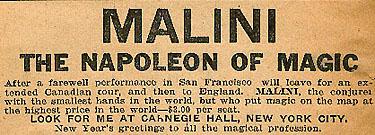 Malini Napoleon ad